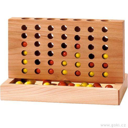 Stolní hra– Čtyři vřadě - Goki