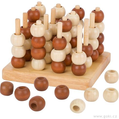 Strategická hra– 3Dpiškvorky - Goki
