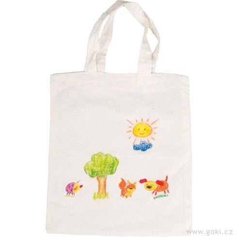 Bavlněná taška kvymalování, velká - Goki