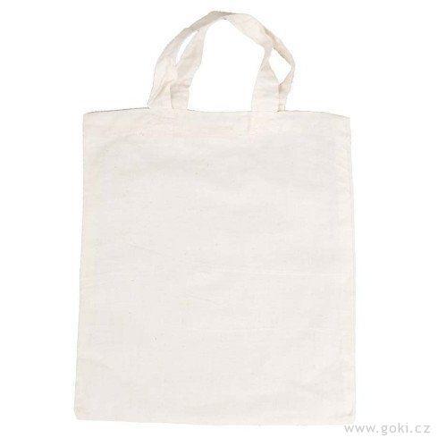 Bavlněná taška kvymalování, malá - Goki