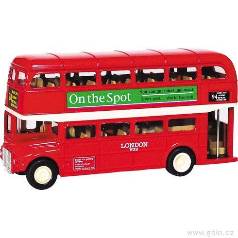London Bussezpětným natahováním - Goki
