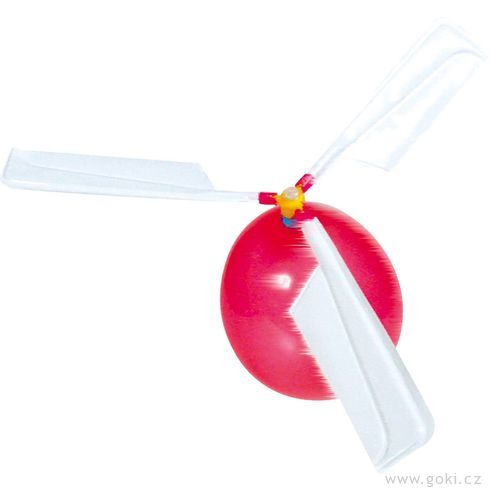 Balónková helikoptéra - Goki