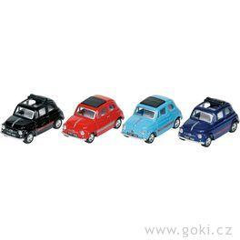 Fiat 500, setrvačník, měřítko 1:49