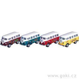 VWMicrobus (1962), mikrobus spotiskem, setrvačník, měřítko 1:64