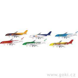 Letadla snápisem azpětným natahováním