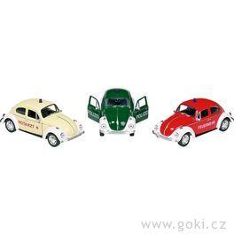 Volkswagen Brouk sezpětným natahováním, měřítko 1:34-39
