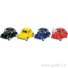 Volkswagen Brouk klasik (1967) sezpětným natahováním