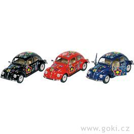Volkswagen Brouk (1967) spotiskem, volnoběh, měřítko 1:24