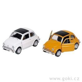 Fiat Nuova 500, volnoběh, měřítko 1:24