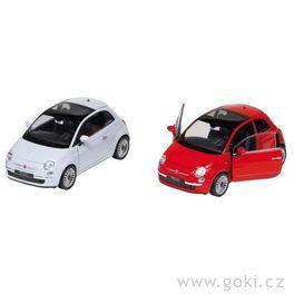 Fiat 500(2007), volnoběh, měřítko 1:24