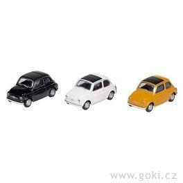 Fiat Nuova 500, volnoběh, měřítko 1:43