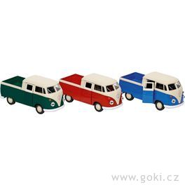 Volkswagen T1DoKa Pick-up sezpětným natahováním, měřítko 1:38