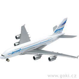 Letadlo Airbus A380, volnoběh