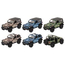 Jeep Wrangler (2018), zpětné natahování, 1:34 –12,5 cm