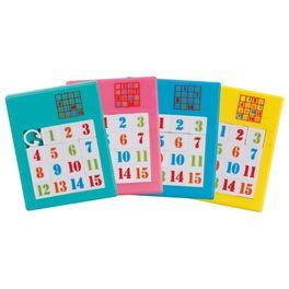 Logická hra– posunovací puzzle čísla