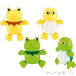 Hračka nanatažení – žába aželva