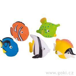 Stříkací hračka dovody – rybky