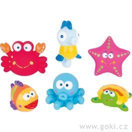 Stříkací hračka dovody – mořská zvířátka
