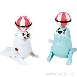 Tuleň – natahovací hračka