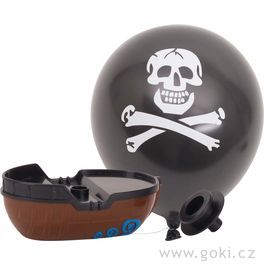 Člun sbalónkem –pirát