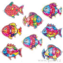 Rybičky –kuličky natrpělivost