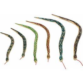 Dřevěný článkový had