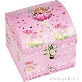 Krabička našperky – Víla