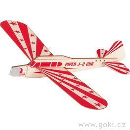 Kluzák Piper J-3Cub