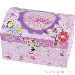 Hrací skříňka – Víla