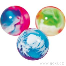 Skákací míček – Mramor barevný II