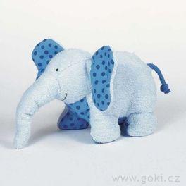 *AKCE* Slon Pablo – textilní hračka promiminka