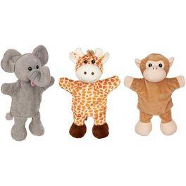 Maňásek naruku –slon, žirafa aopice