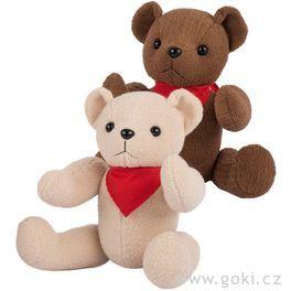 Medvídek spohyblivými končetinami