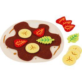 Crèpe sovocem ačokoládovou polevou, 14dílů –potraviny dodětské kuchyňky