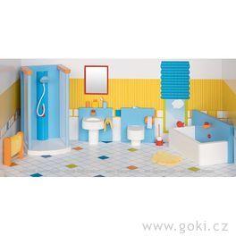Koupelna – nábytek dodomečku propanenky, 16dílů