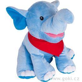 Maňásek naruku – Slon Nira