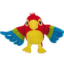 Maňásek naruku – papoušek Pelle