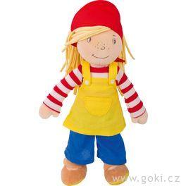 Malá Peggy 28cm,textilní panenka