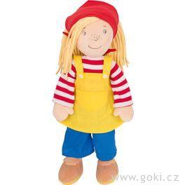Velká Peggy 40cm,textilní panenka