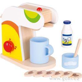Kávovar – dětské nádobí dokuchyňky