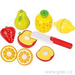 Ovoce nasuchý zipkřezání – dětská kuchyňka, 13dílů