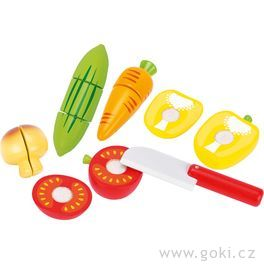 Zelenina nasuchý zipkřezání – dětská kuchyňka, 12dílů