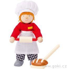 Panenka dodomečku – pekař