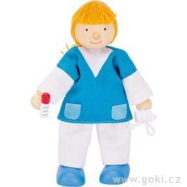 Panenka dodomečku nemocnice – zdravotní sestra