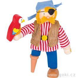Panenka dodomečku – pirát spapouškem