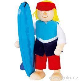 Panenka dodomečku – surfař