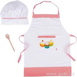 Kuchyňská zástěrka, čepice avařečka, sada