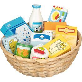 Dětský krámek – miniatury potraviny apotřeby dodomácnosti, 10ks