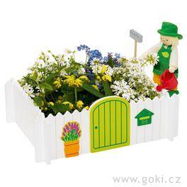 Panenka zahradník +zahrádka