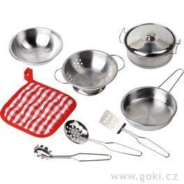 Hrajeme sinakuchaře – setkuchyňské nádobí, 9dílů
